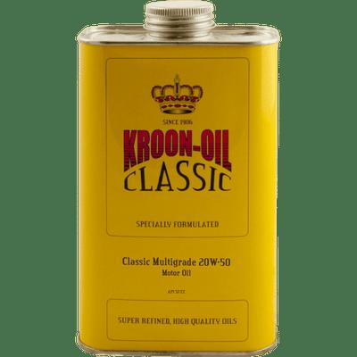 CLASSIC MULTIGRADE 20W-50 Kroon Oil Additivi Blue
