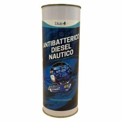 Antibatterico Diesel Nautico protezione gasolio marino Additivi Blue